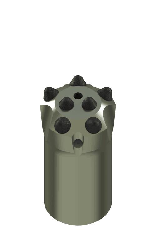 Коронка буровая КНШ 41.25