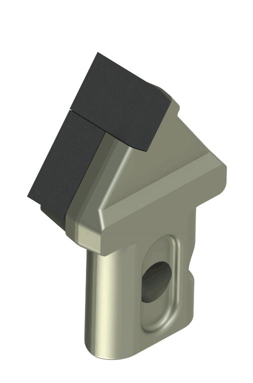 Резец cтруговый 1РС-4П