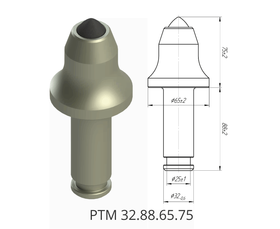 Резец тангенциальный РТМ 32.88.65.75