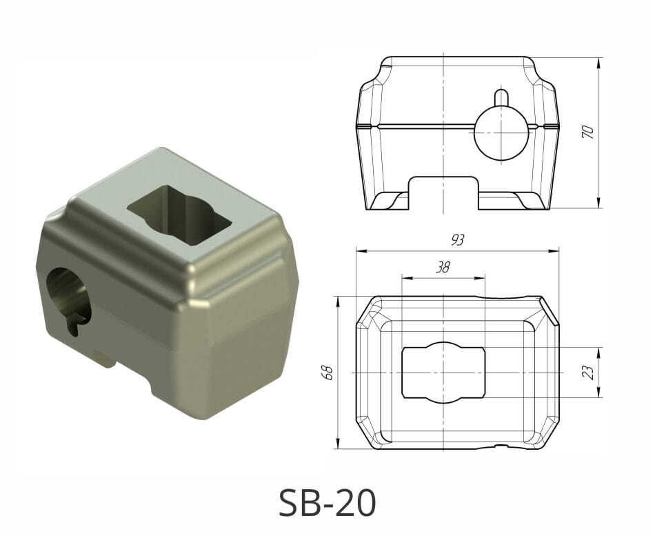 Резцедержатель SB-20