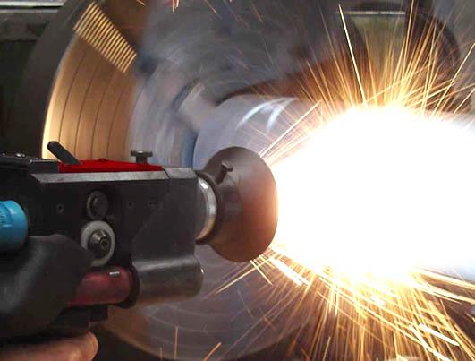 Процесс электродуговой металлизации